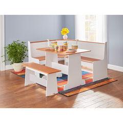 Breakfast Nook Table & Bench,