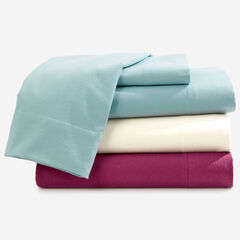 Cotton Flannel Solid Sheet Set ,