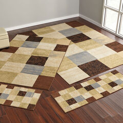 Checkered Box 4-Pc. Rug Set,