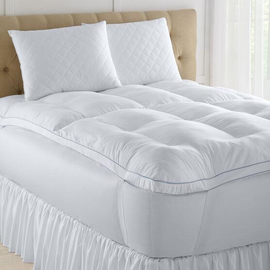 Memory Loft Gel 2-Pack Deluxe Pillows, WHITE