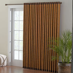Bamboo Grommet Panel, HONEY OAK BROWN