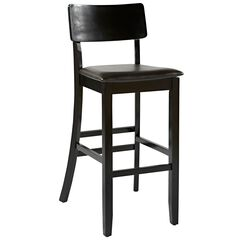 Torino Collection Contemporary Bar Stool, 30'H,