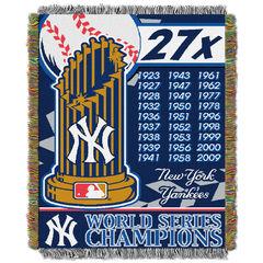 Yankees Commemorative Series Throw,