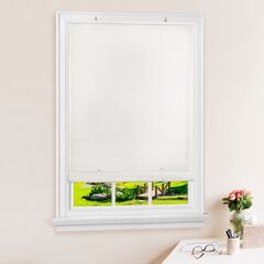 Cordless Solstice Vinyl Roll-Up Blind,