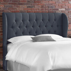 Tufted Wingback Headboard, OCEAN