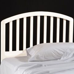 Carolina White Headboard with Headboard Frame,