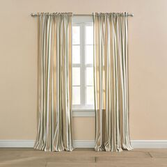 Cotton Canvas Striped Window Collection,