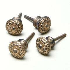 Assorted Vintage-Style Knobs, Set of 4 ,