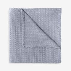 BH Studio Primrose Cotton Blanket, SLATE