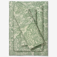 BH Studio 1000-TC. Sheet Set, CELADON DAMASK