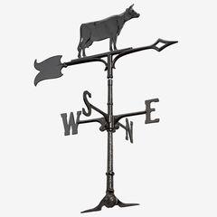 """30"""" Cow Accent Weathervane,"""