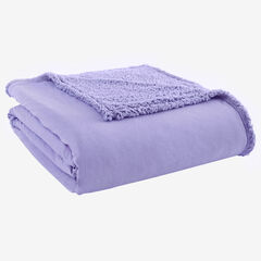 Micro Flannel® Reverse to Sherpa Blanket,