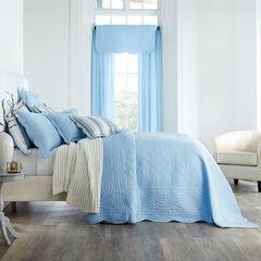 Florence Oversized Bedspread, SKY BLUE