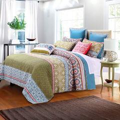 Shangri-La Quilt Set by Greenland Home Fashions,
