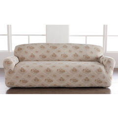 Floral Stretch Sofa Slipcover,