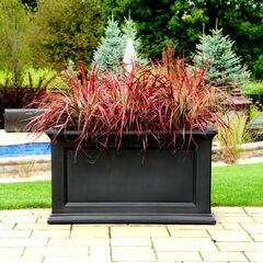 "Mayne® Fairfield 20"" x 36"" Patio Planter,"