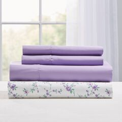 Printed Microfiber 2-Pack Sheet Set,