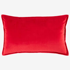 BH Studio Velvet Lumbar Pillow Cover,