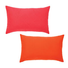 BrylaneHome® Studio Reversible Quilted Lumbar Pillow,