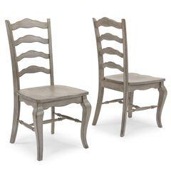 Mountain Lodge Gray Chair, Un-Uph (2 per carton),