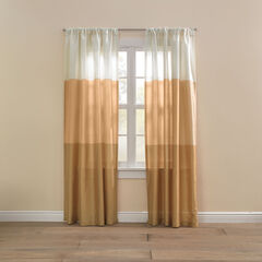 Triad Faux Silk Rod-Pocket/Back-Tab Panel,