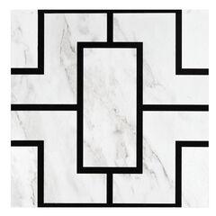 Retro 12x12 Self Adhesive Vinyl Floor Tile - Affinity - 20 Tiles/20 sq. ft.,