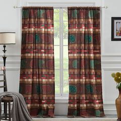 Canyon Creek Curtain Panel Pair by Greenland Home Fashions,