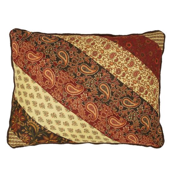 Salem Harvest Breakfast Pillow, BROWN MULTI
