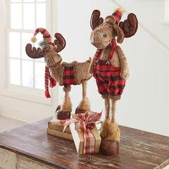 4-Legged Standing Moose Figure ,