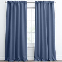 Lucas Rod-Pocket Curtain,