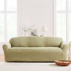 BrylaneHome® Studio Ikat Stretch Sofa Slipcover,