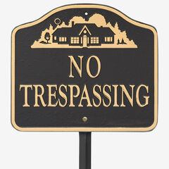 No Trespassing Sign,