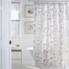 By The Sea Shower Curtain,