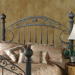 "Queen Headboard with Headboard Frame, 71½""Lx67""Wx66¼""H,"