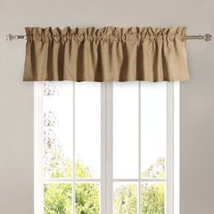 Burlap Natural Window Valance by Greenland Home Fashions,
