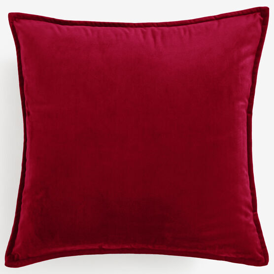 """BH Studio 20""""Sq. Velvet Pillow Cover,"""