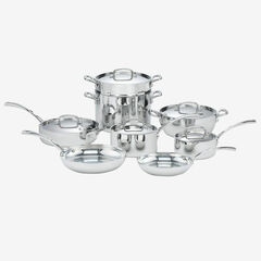 Cuisinart French Classic Tri-Ply Stainless 13-Pc. Cookware Set,