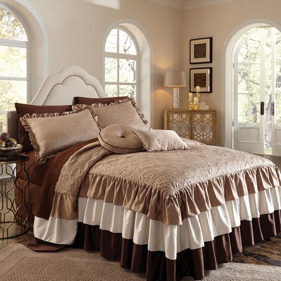 Genevieve Ruffle Bedspread,
