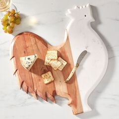 Rooster Cutting Board,