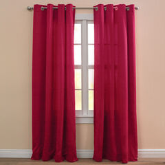 BH Studio Room-Darkening Grommet Panel, CHERRY