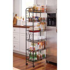 Scroll Kitchen Cart,