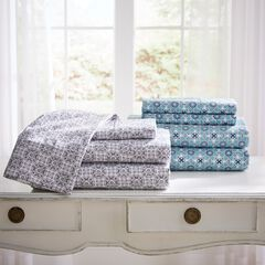 Jill Morgan Microfiber Sheet Set,