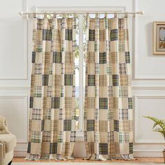 Oxford Curtain Panel Pair by Greenland Home Fashions, MULTI