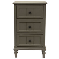Chic 3-Drawer Accent Table,