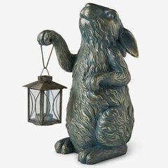 Animal Statue with Lantern,