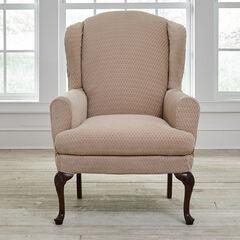 BH Studio® Stretch Diamond Wing Chair Slipcover,
