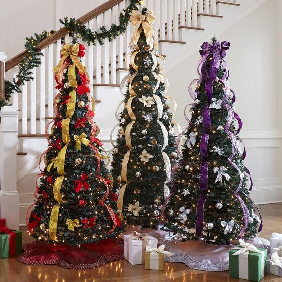7 Deluxe Pop Up Christmas Tree