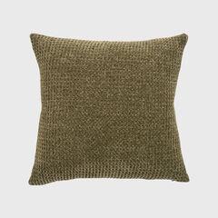 Shiny Waffle Chenille Knit Pillow,