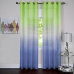 Rainbow Single Grommet Window Curtain Panel,