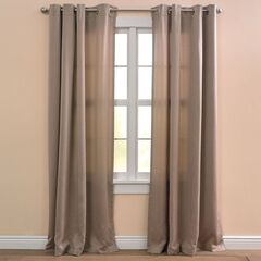 BH Studio® Room-Darkening Rod-Pocket Valance,